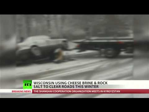 The city of Milwaukee will be using a new tool to make icy roads safer: Cheese brine. The by-product in cheese production is inexpensive and will be used in ...