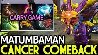 Matumbaman [Venomancer] Carry Game Cancer ComeBack 7.15 Dota 2