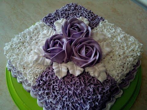 Как украшать торт белковым кремом в домашних условиях - Приоритет