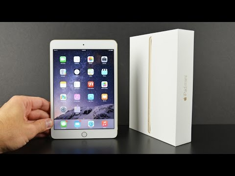 Apple iPad mini 3: Unboxing & Overview