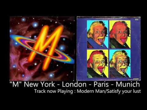 M - New York London  Paris  Munich. Full original vinyl album [HQ Audio]