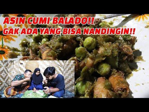 SERIUSAN ENAK BANGET! IKAN ASIN CUMI LADO HIJAU!! #BUKABARENG