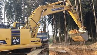 Komatsu Pc210 Lci-10 #Excavator in Action