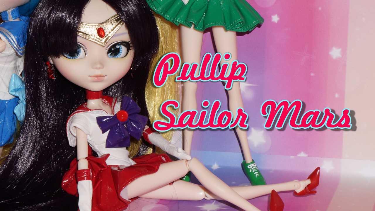 Pullip Dolls Sailor Moon Pullip Sailor Mars Doll