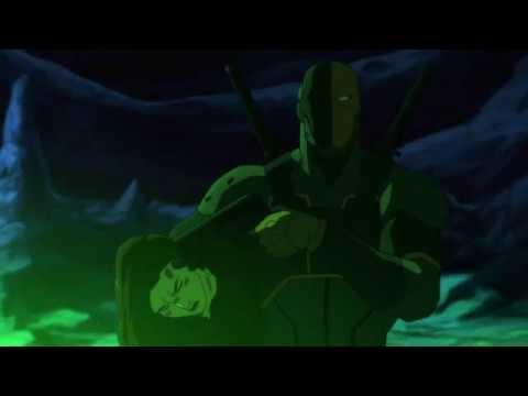 Дэфстроук манипулирует Робином (Сын Бэтмана 2014)