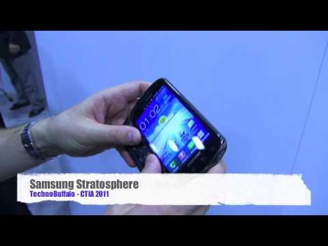 Samsung Stratosphere - Hands On!