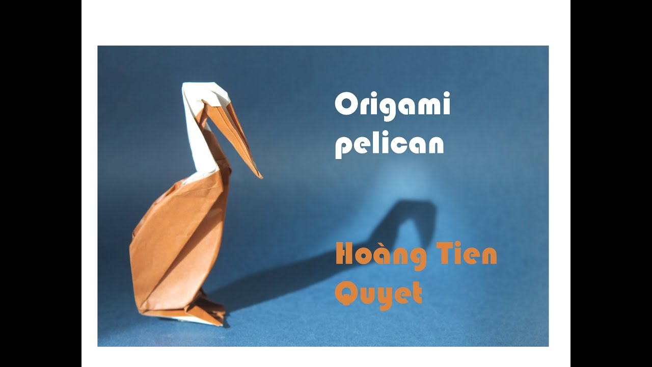 Origami pelican by Hoàng Tiến Quyết - YouTube - photo#37