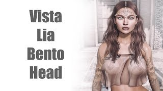 Vista Lia Bento Mesh Head in Second Life