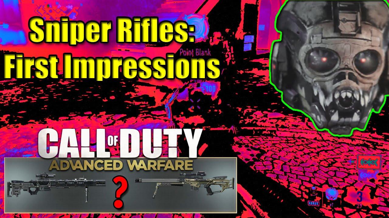 Advanced Warfare Mors Sniper Advanced Warfare Best Sniper