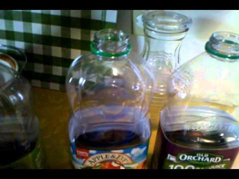 Make a Reduced Sugar Fruit Juice Drink