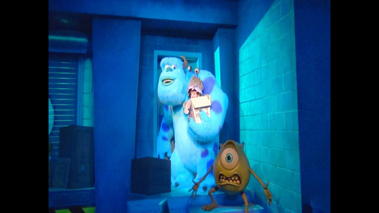 Disney California Adventure Monsters Inc The Ride Hd