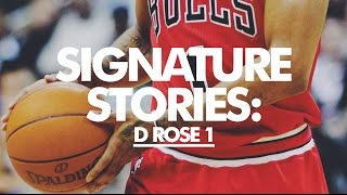 Signature Stories // Derrick Rose Reminisces on the adidas Rose 1