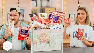 Trying USA Subscriber Candy: Pacific North West - In The Kitchen With Kate