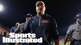 Hugh Freeze Spotted At Alabama Football Offices Amid Search For OC   SI Wire   Sports Illustrated