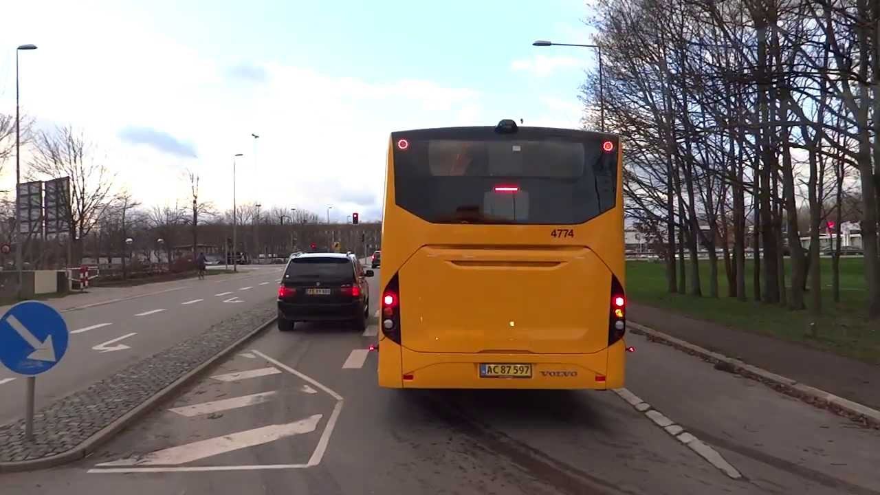 Volvo B8RLE / 8900. Dashboard + short drive - YouTube