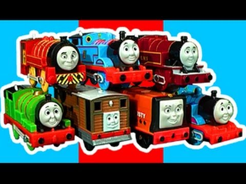 Thomas The Tank Trackmaster Ultimate Review video