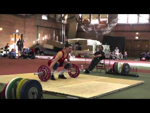2013 Trinity College Weightlifting Meet: Men's Snatch Lift Image 1