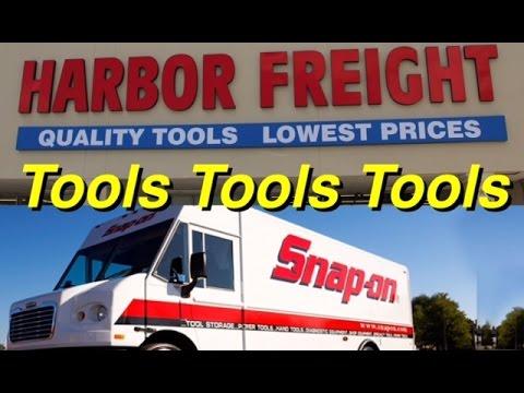 Mechanics Tool Reviews - Snap On Tool Review - Harbor Freight Tools - Bundys Garage