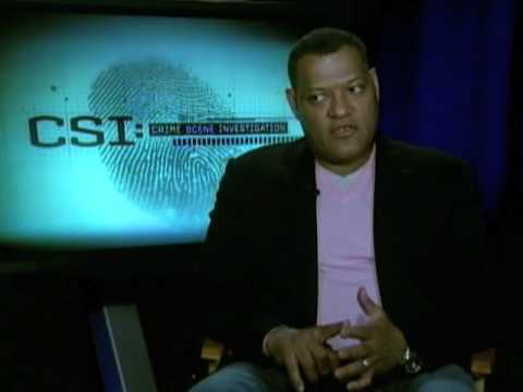 CSI: - Laurence Fishburne Interview