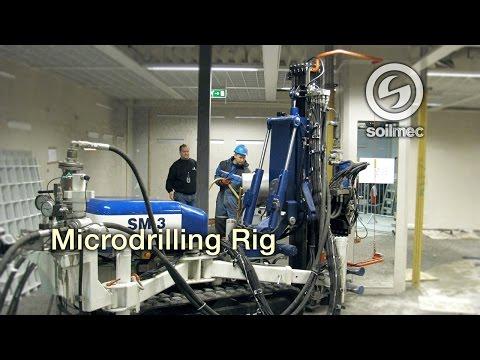 Soilmec Microdrilling SM 3 [Micropiling machine]