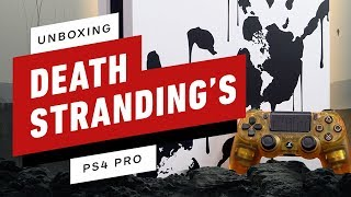 Death Stranding PS4 Pro Special Edition Unboxing