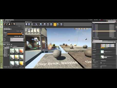 Уроки Unreal Engine 4 - Окно Modes