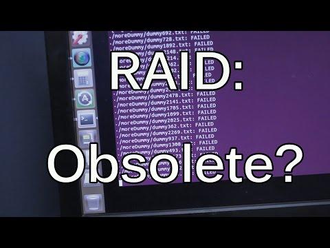 RAID Part 1: RAID can fail and lead to data loss
