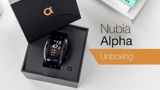 Nubia Alpha unboxing: Flexible smartwatch or wearable phone?