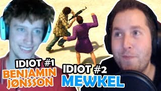 DE TO IDIOTER (Grand Theft Auto V) - Mewkel ft. Benjamin Jønsson