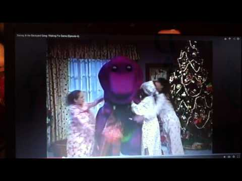 BARNEY I LOVE YOU (WAITING FOR SANTA)