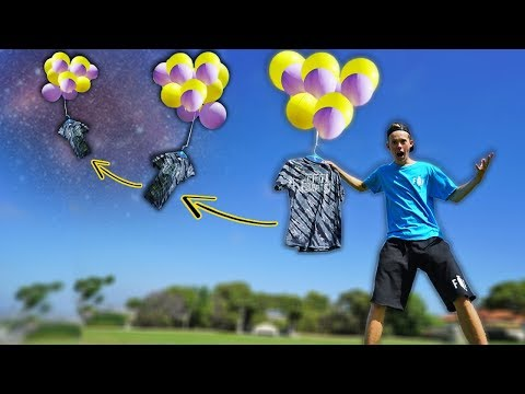 SENDING MERCH TO SPACE!!! (300,000ft UP)