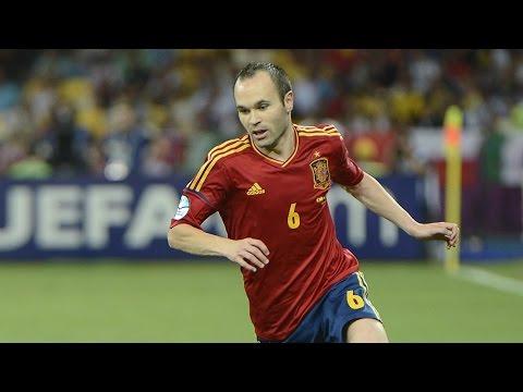 Величайшие футболисты  Андрес Иньеста (Iniesta) 1080p