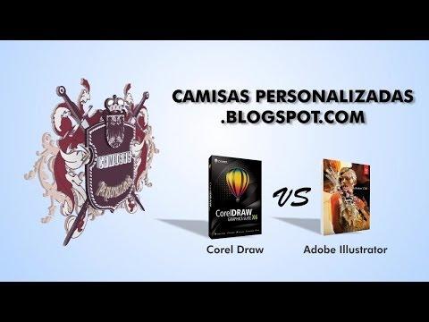 Corel Draw VS Adobe Illustrator - Parte 1 de 2