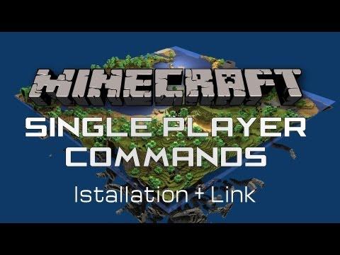 Minecraft SinglePlayer Commands 1.5.2 - Installation + Link (German HD) Enset