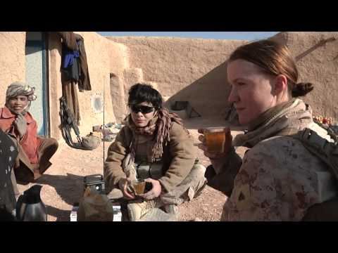 Female Engagement Team in Helmand Province