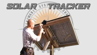 ☀️ Build A DIY Solar Tracker - Plans Available 📄