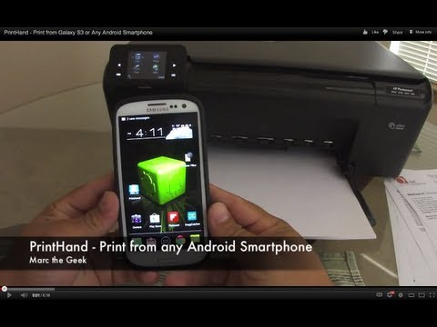 PrintHand - Print from Galaxy S3 or Any Android Smartphone
