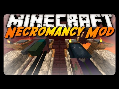 Minecraft Mod Review: NECROMANCY MOD!
