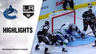 09/21/19 Condensed Game: Canucks @ Kings