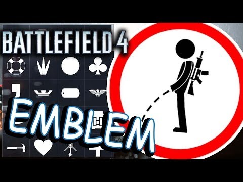 Battlefield 4 EMBLEMS. Noob in action!