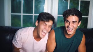 the Dolan Twins wheezing/crying of laughter for 11 minutes