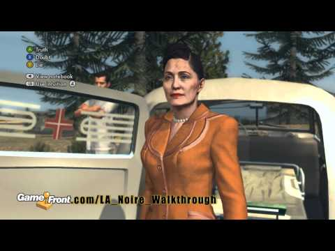 LA Noire Walkthrough - PT. 15 - Story Mission 7 - The Fallen Idol - Part 1