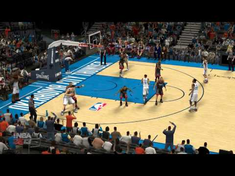 NBA2K13 Oklahoma City Thunder vs Miami Heat Steven Adams