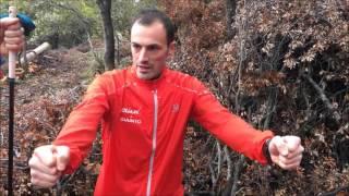 Bastones trail running: Técnica uso por Iker Karrera y Pablo Villa, del Salomon Running