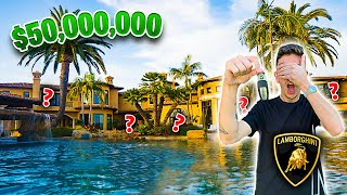 Hide n Seek in a $50,000,000 MANSION!! **WINNER GETS CAR**