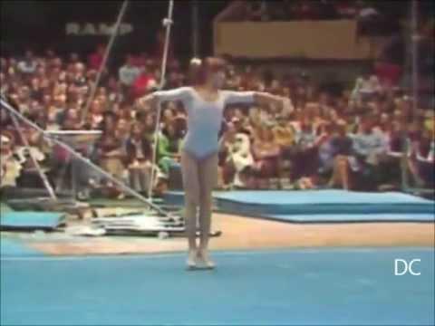 Nadia Comaneci, une gymnaste hors du commun.