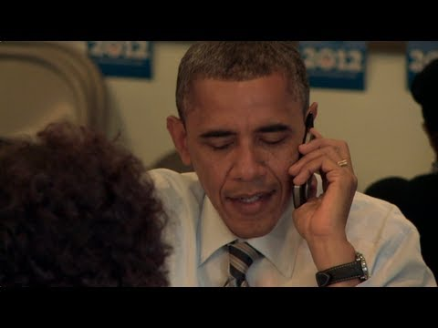 President Obama on Election Day 2012: Make Phone Calls and Round Up Some Votes
