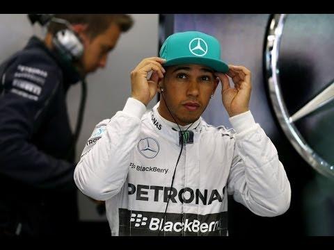 F1 2014 - China - Lewis Hamilton Mistake