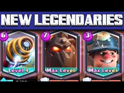 """CLASH ROYALE: """"SPARKY IS INSANE!"""" NEW LEGENDARY CARD GAMEPLAY!"""