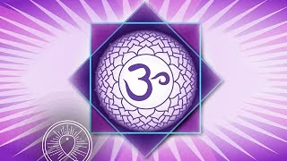 Open Crown Chakra: Sleep Chakra Meditation Balancing & Healing Calm Sleeping Meditation Music